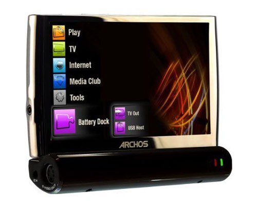 Archos 5 800x600 Touch Screen