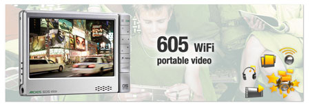 Archos 605 Portable Video Player