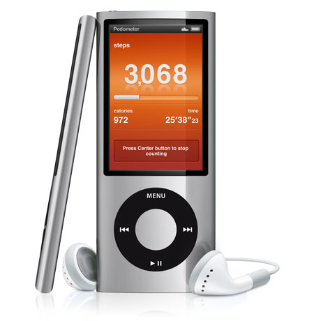New iPod Nano Fitness Hero