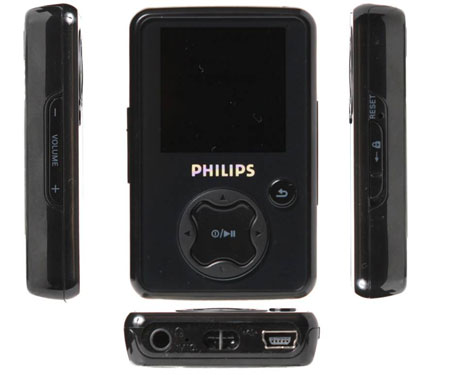 Philips GoGear SA3025 MP3 Player