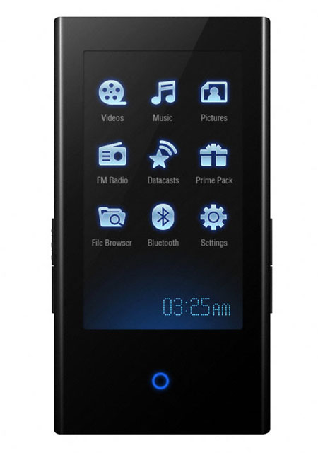 Samsung YP-P2JAB MP4 Player